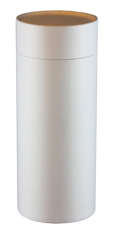 White Eco-Friendly Scattering Tube - Large Adult - Cherished Urns