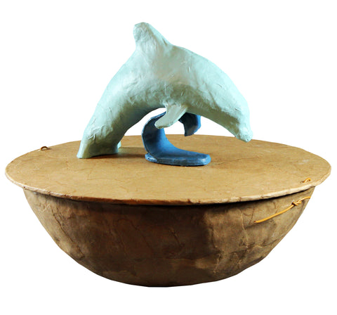 Serenity Dolphin Water-soluble Urn - Cherished Urns