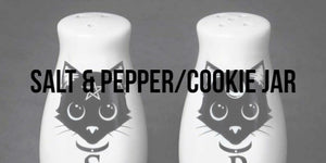 Ceramic Salt & Pepper Shaker & Cookie Jar Collection