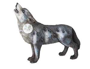The Wolf Spirit Collection Howling Wolves Spirit Collectible Figurine