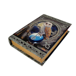 9.25 Inch Spell Keeper Book Rectangle Jewelry/Trinket Box Figurine