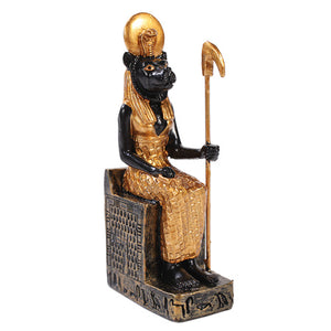Egyptian Small Sekhmet Mini Figurine Made of Polyresin
