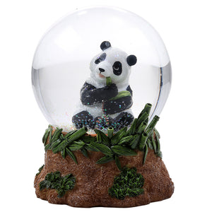 Panda Glitter Water Globe Collectible Water Ball