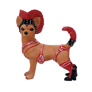 Adorable Carnival Showgirl Chihuahua Collection Cute Chihuahua In Costume Dog Collectible