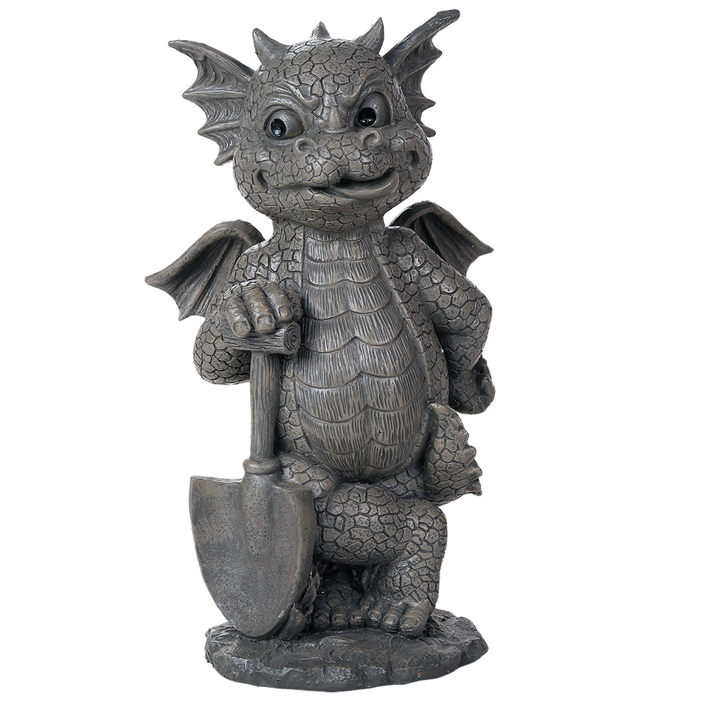 Green Thumb Gardening Dragon Garden Display Stone Finish