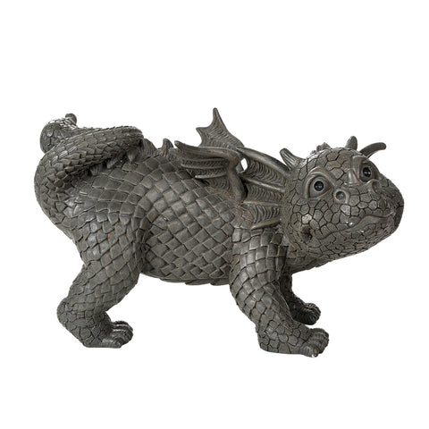 Dragon Peeing Lawn Dragon Garden Display Stone Finish
