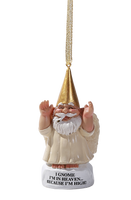 Angel Gnome Hanging Ornament Holiday High Heaven Christmas Home Decor Weed