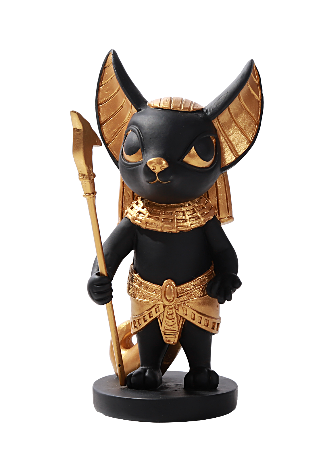 Ancient Egyptian Hieroglyph Inspired Baby Mini Anubis God of Underworld Figurine