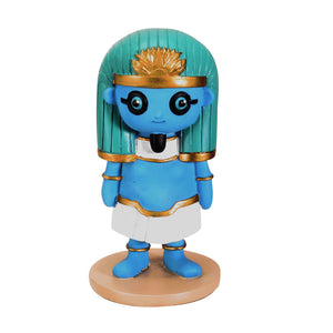 SUMMIT COLLECTION Weegyptians - Hapi, Blue Skinned Egyptian God of The Nile Collectible Figurine