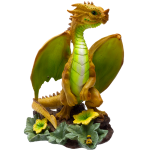 Dragon Fantasy Honeydew Dragon Resin Figurine