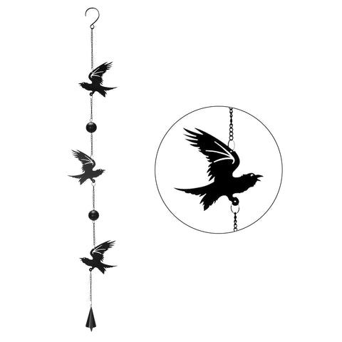 "Raven ""Poe"" Hanging Decoration"