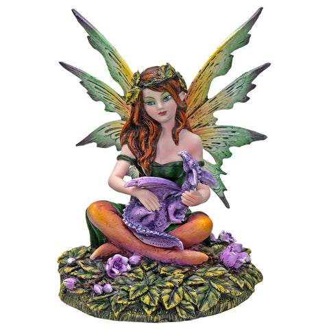 My Baby Pet Dragon Fairy Collectible Home Decor Figurine