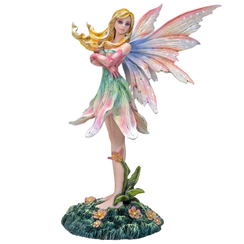 6.75 inches Rainbow Lily Fairy Collectible Home Decor Figurine