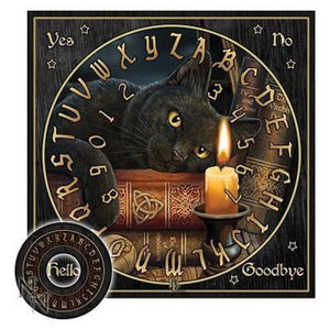Lisa Parker Design Witching Hour Black Cat Ouija Board Celtic Spirits Mystical