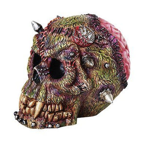 Grotesque Monster Frankenstein Skull Gothic Fantasy Collectible Figurine