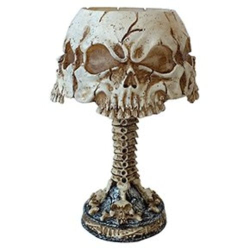 Ossuary Skull LED Mini Night Lamp Color Changing Desktop Halloween Decor
