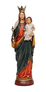 Our Lady of Help of Christians Catholic Religous Figurine Sculpture 12 Inch