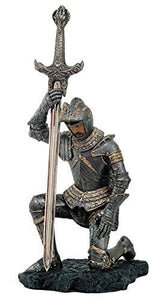 Medieval Knight of Honor Letter Opener Desktop Decor 7.5 Inch Tall