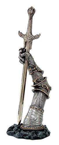 Legendary Sword of King Arthur Excalibur Letter Opener Desktop Decor 10 Inch Tall
