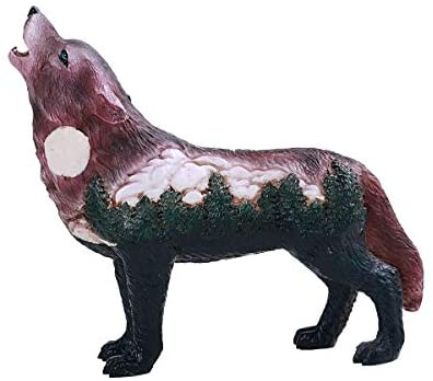 Pacific Giftware PT The Wolf Spirit Collection Big Tree Wolf Spirit Collectible Figurine