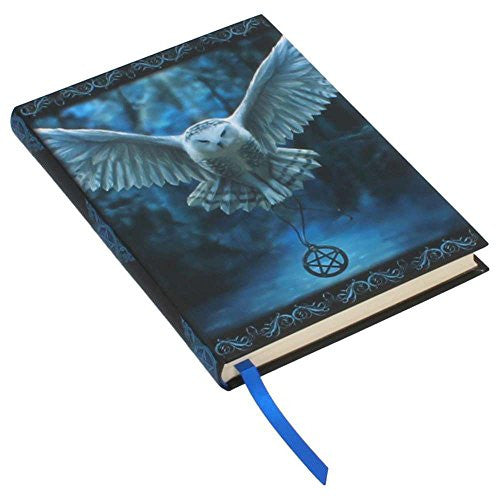 Awaken Your Magic Anne Stokes Embossed Journal Collector Book White Owl