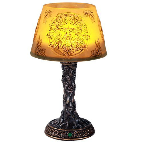 Greenman LED Mini Night Lamp Desktop Decor 7 Inch Battery Operated