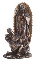 Our Lady Of Guadalupe Juan Diego Saint Estatua Virgen Miracle Religious Statue