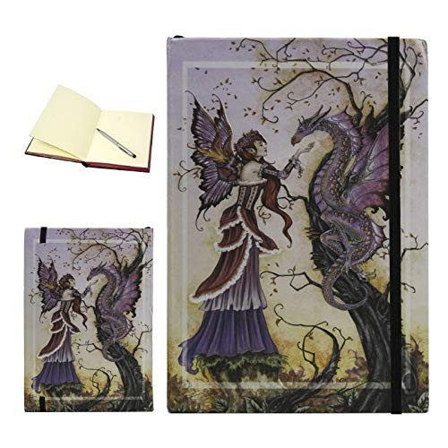 Dragon Charmer Embossed Fairy Journal Diary Notebook Amy Brown