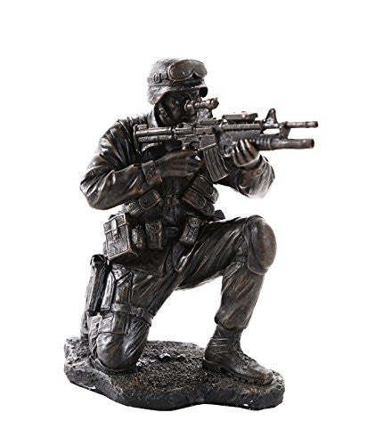 America's Finest Brave Soldier Military Heroes Collectible Figurine