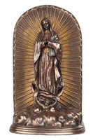 12.25 Inch Guadalupe Cremation Urn Patron Saint Religious Statue Figurine