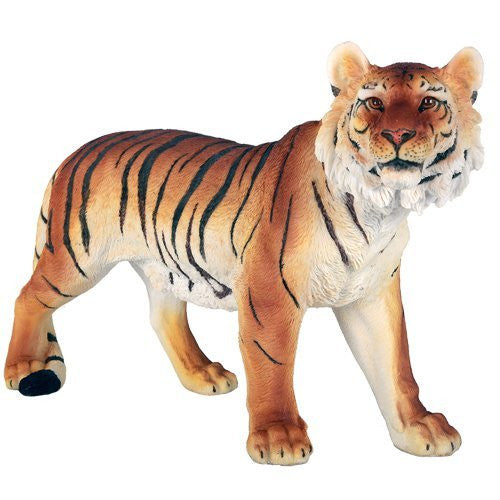 Bengal Tiger Wild Big Cat Wildlife Collection 16 Inch Lifelike Collectible Figurine Statue Home Decor Gift