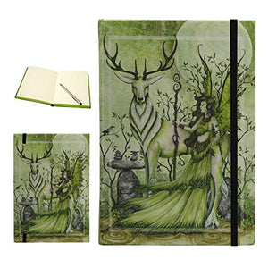 The Guardian Embossed Fairy Elk Journal Diary Notebook Amy Brown