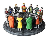 Medieval Legends King Arthur and the Knights of the Round Table Sculptural Set