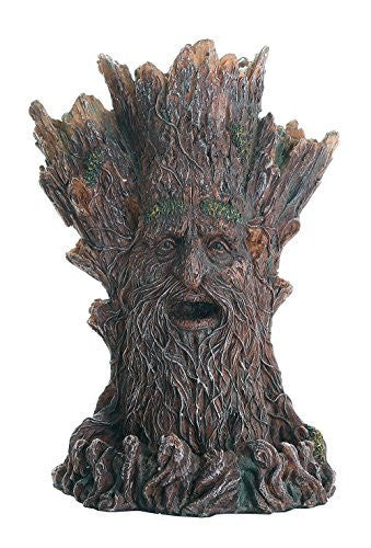 Whispering Forest Mystic Greenman Tree Spirit Backflow Incense Holder