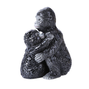 Gorilla and Baby Magnetic Salt Pepper Shaker Set Jungle Terk Kala Tarzan