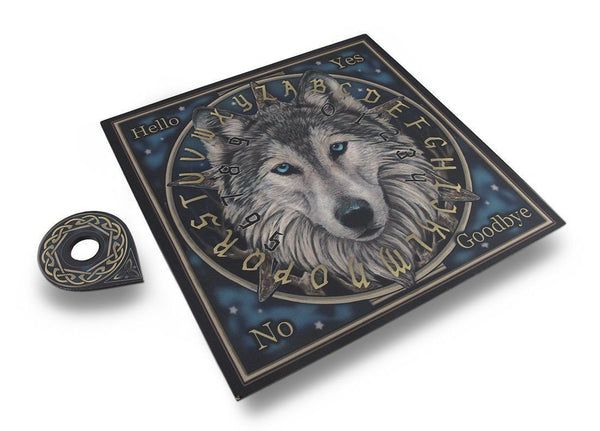 Lisa Parker Design Wild One Wolf Ouija Board Celtic Spirits Mystical