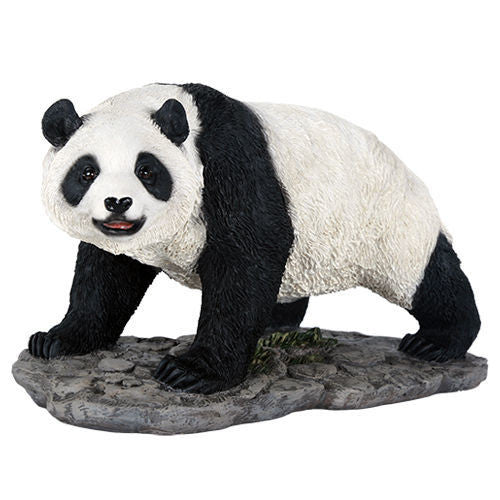 Panda Animal Figurine China Panda Bear Collectible Figurine Wildlife