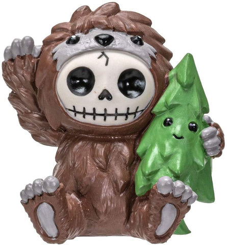 Furrybones Summit Collection Bigfoot Figurine Decorative Signature in Sasquatch Costume 3 Inch Tall Collectible Statue