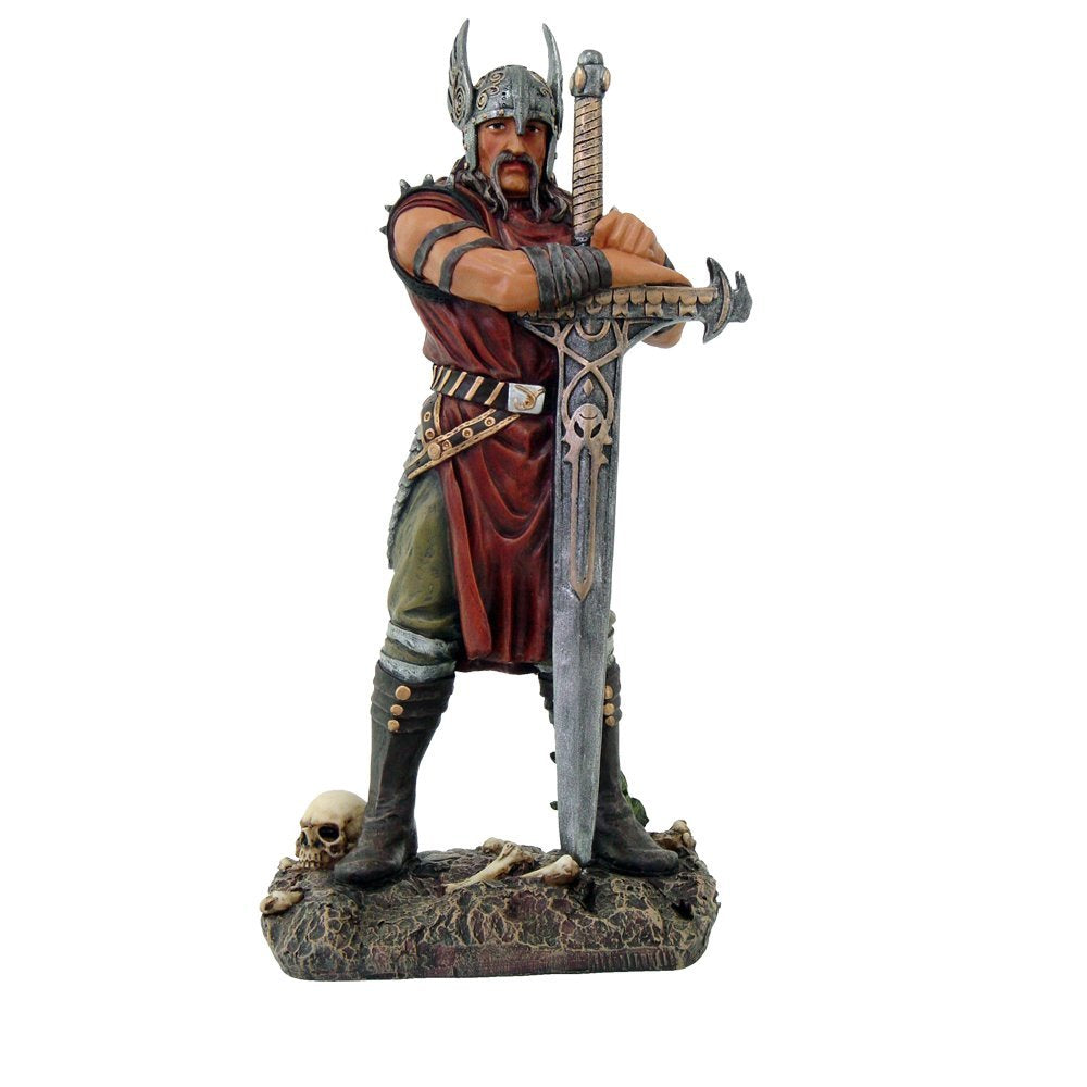 Nordic Viking Warrior with Longsword Ancient Collectible Figurine