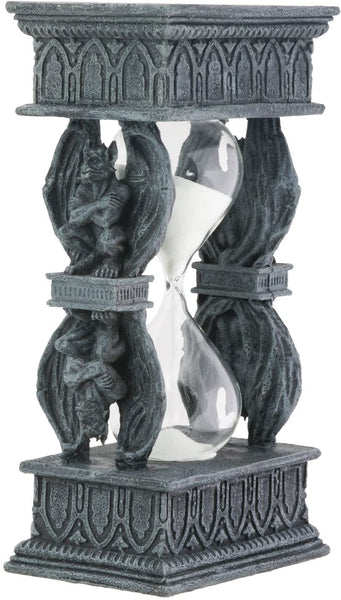 Gargoyle Double Sand Timer Collectible Figurine