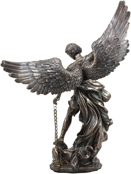 Pacific Giftware Archangel St. Michael Slaying Demon Statue Figurine 20 Inch