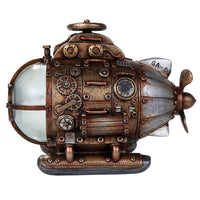 Steampunk Nautilus Explorer Submarine Collectible Color Changing LED