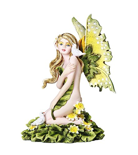 Daisy Fairy Cheerfullness and Innocense Fairy Collectible 4.75 Inches