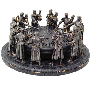 Knights of the Round Table with Pewter-like Finish 8310