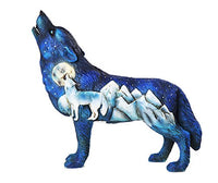 The Wolf Spirit Collection Frost Mountain Wolf Spirit Collectible Figurine