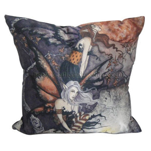 NIGHT FLYERS '' COUCH PILLOW BY AMY BROWN