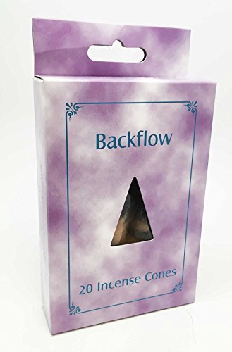 Backflow Incense Cones Pack of 80 Lavender Sandal Rose and Jasmine Scent For Backflow Incense Burners