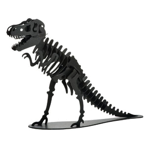 Japanese Art of Paper Craft Giant Large Dinosaur Tyrannosaurus Raptor Assembled Educational Premium 3D Puzzle Paper Model Kit Challenge Gift Made in Japan