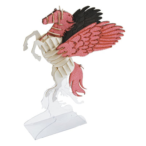 Japanese Art of Paper Craft Fantasy World Pegasus Premium 3D Paper Puzzle Educational Model Kit Challenge Gift Made in Japan