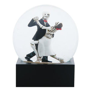 Love Never Dies Skeleton Tango Dancers Decorative Water Globe by YTC